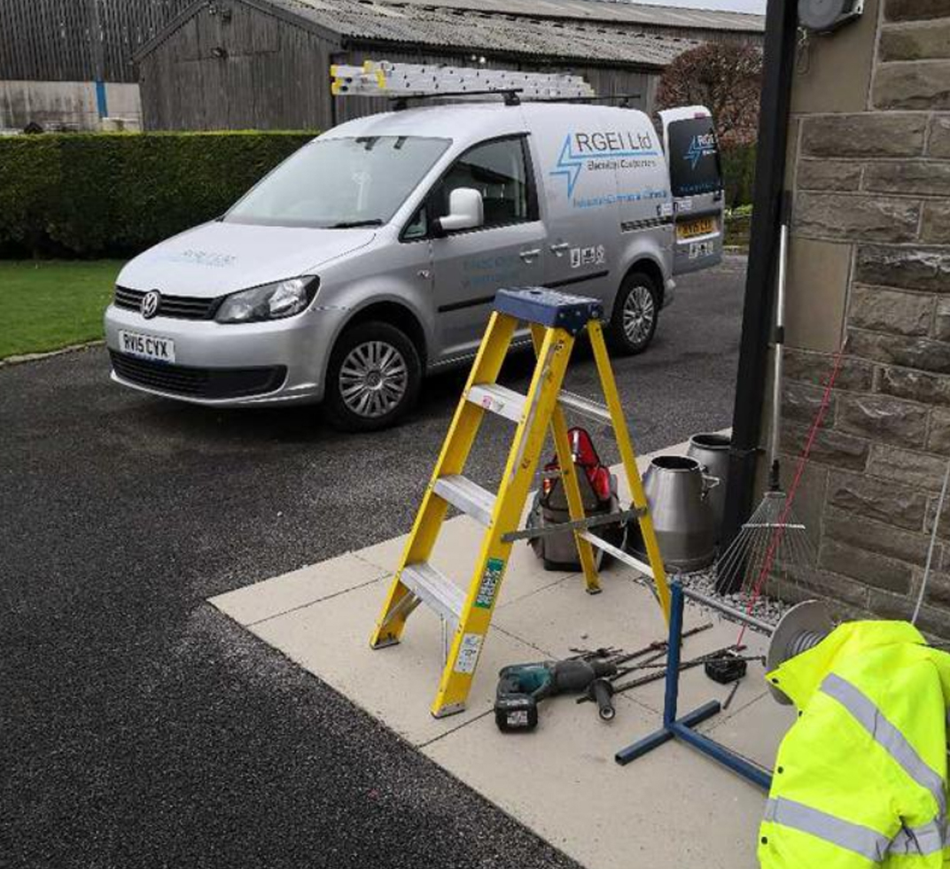 electrical contracting in Lancashire